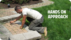 Call Green Leaf Landscaping for Hands on Landscaping work
